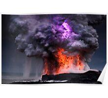 Kilauea Volcano at Kalapana 5 Poster