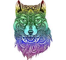 Spirit wolf Photographic Print