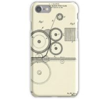 Machine for Making Wire Glass-1905 iPhone Case/Skin