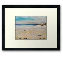 Cornish Beach Framed Print