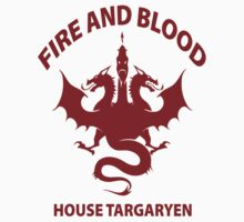Fire And Blood (House Targaryen) by nardesign