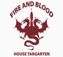 Fire And Blood (House Targaryen) T-Shirt