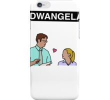 #DWANGELA  iPhone Case/Skin