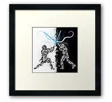 You were my brother, Anakin ! Framed Print