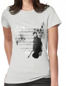 Sherlocked Melody Womens Fitted T-Shirt