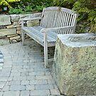 Labyrinth Bench by Marilyn Cornwell