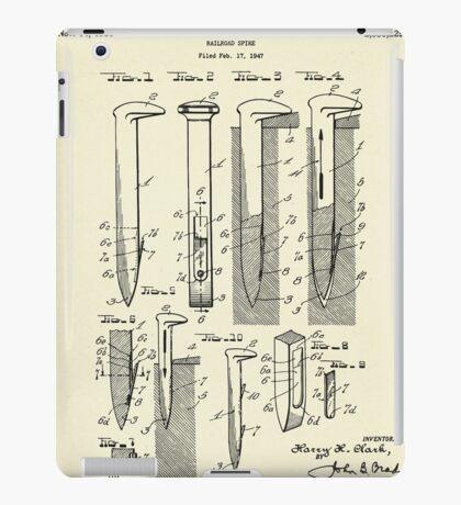 Railroad Spike-1950 iPad Case/Skin