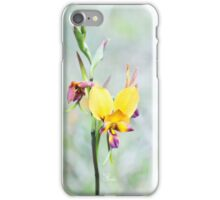 Peaceful Donkey Orchid iPhone Case/Skin