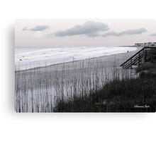 A Pale Moon Rising in the East Canvas Print