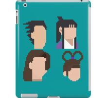 Ace Attorney Heads. iPad Case/Skin
