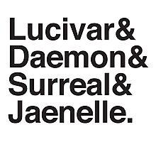 Lucivar & Daemon & Surreal & Jaenelle Photographic Print