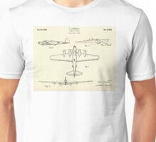 Bombing Airplane-1935 Unisex T-Shirt