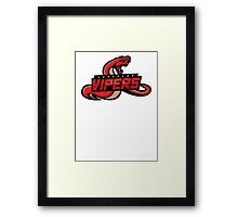 Sunspear Vipers Framed Print