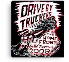 DRIVE BY TRUCKERS TOURS 1 Canvas Print