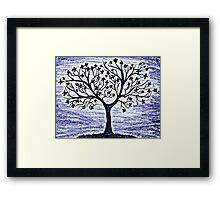 Blossoming Tree Framed Print