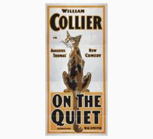 Performing Arts Posters William Collier in Augustus Thomas new comedy On the quiet 1697 One Piece - Short Sleeve