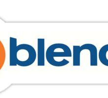 Blender logo Sticker