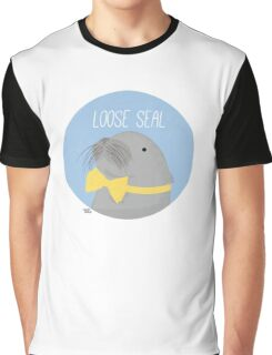 Loose Seal Graphic T-Shirt