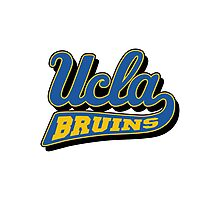 UCLA Bruins  Photographic Print