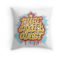 A Tribe Called Quest Logo Throw Pillow