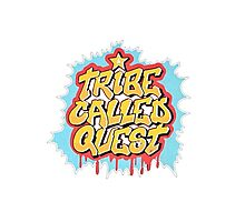 A Tribe Called Quest Logo Photographic Print