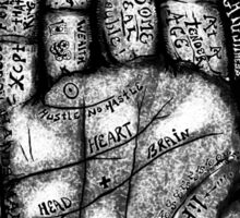 The Helping Hand Sticker