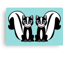 TWO LITTLE STINKERS Canvas Print