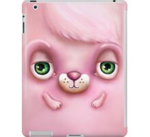 Cute Fluffy Monster in Pink iPad Case/Skin