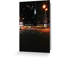 Chrysler by Night Greeting Card