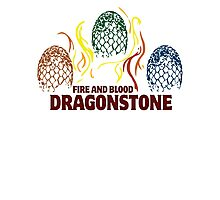 Fire And Blood (Dragonstone) Photographic Print
