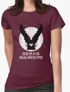 Kaiju Apocalypse Womens Fitted T-Shirt