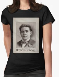 Performing Arts Posters Hennessy Leroyle the comedian 0457 Womens Fitted T-Shirt