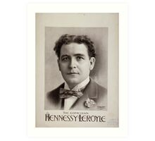 Performing Arts Posters Hennessy Leroyle the comedian 0457 Art Print