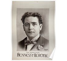 Performing Arts Posters Hennessy Leroyle the comedian 0457 Poster