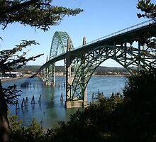 Yaquina Bay Bridge by Randy Richards