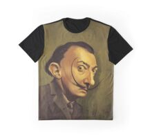 salvador dali / caricature Graphic T-Shirt