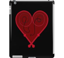 Whip Heart Rich Red iPad Case/Skin
