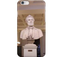Lincoln in the Vermont State House iPhone Case/Skin