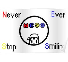 Never Ever Stop Smiling Poster