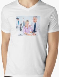 Corporate Viral Technology Mens V-Neck T-Shirt