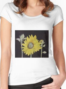 Sunflower Study Women's Fitted Scoop T-Shirt