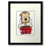 The Toadster! Framed Print