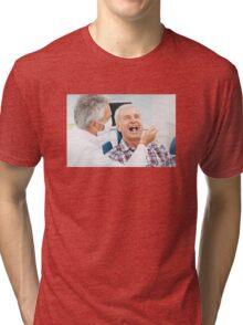 Common Linguistic Challenges Tri-blend T-Shirt