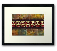 Containment By Abstraction Framed Print