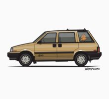 Nissan Stanza / Prairie 4wd Wagon Gold Kids Tee