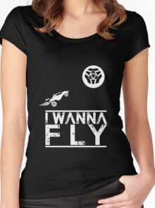 Rocket tribute  Women's Fitted Scoop T-Shirt