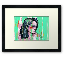 you are allowed to be happy Framed Print