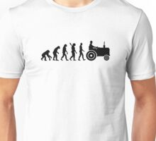 Evolution Tractor Unisex T-Shirt