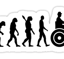 Evolution Tractor Sticker