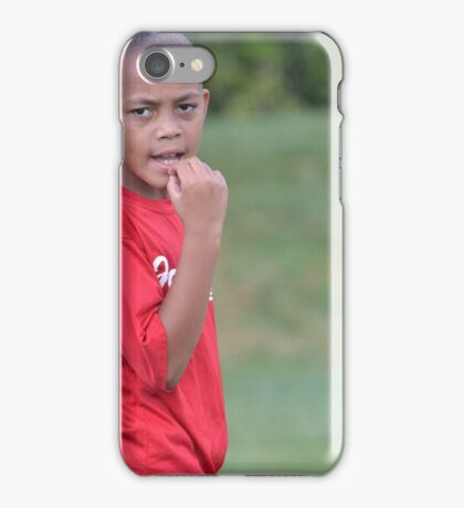 Soccer Game Pause iPhone Case/Skin